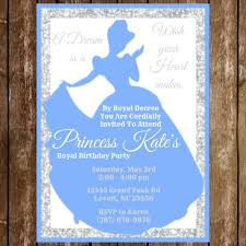 disney princess birthday invitation download cinderella
