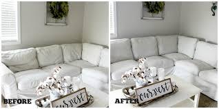 Ikea Ektorp Sofa Cushions August 2016 The Glam Farmhouse