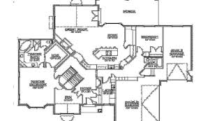 one house plans with walkout basement house plans with walkout basement house plan w3927 detail from