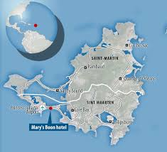 St Martin Map Mary U0027s Boon Beach Resort U0026 Spa In St Maarten Could Be Yours For