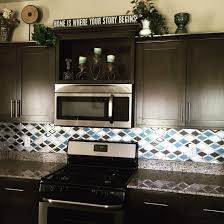 Tiled Kitchens Ideas by My New Kitchen Glazzio Tiles Falling Star Series Cerulean Glass