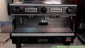 3 Ways to Clean an Espresso Machine wikiHow