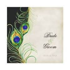 peacock invitations stunning peacock pair pocket wedding invitation set blue