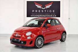 fiat 500 hatchback used abarth fiat 500 abarth red 1 4 hatchback portsmouth