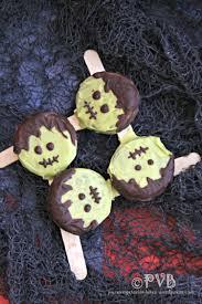 halloween treats adorable frankenstein oreo pops pure