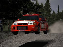 2015 mitsubishi rally car mitsubishi lancer evolution vi rally car driving 4 by patemvik on