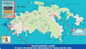 St John Map St John