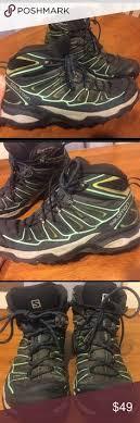 womens hiking boots size 9 arturo chiang philippa genuine rabbit fur hiking boot