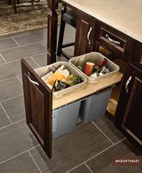 built in trash can cabinet kitchen cabinet trash can pull out inspirational a built in trash