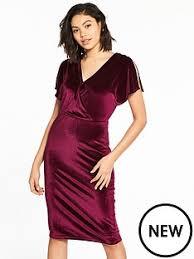 midi dresses red dresses women www littlewoodsireland ie