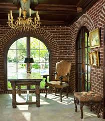 brick walls trendy textural beauty 25 home offices with brick walls