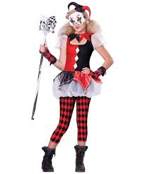 Halloween Costumes Jester Dark Jester Teen Costume Girls Costume