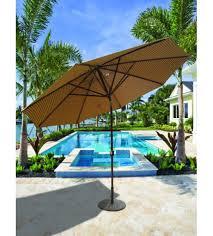 Patio Umbrellas That Tilt Best Selection Large Tilt Patio Umbrellas Galtech 11 Ft Deluxe