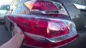 nissan altima 2013 usa price how to replace tail light u002713 u002715 nissan altima youtube