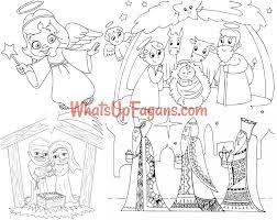 12 Free Printable Nativity Coloring Pages For Kids Free Printable Nativity Coloring Pages