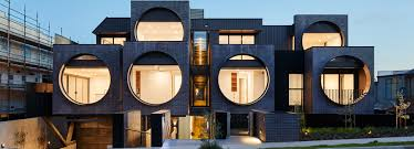 bkk architects architecture and design news and projects bkk architects frames cirqua apartments near melbourne with oversized circular windows