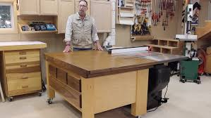Table Saw Cabinet Plans Down To Earth Woodworkingdown To Earth Woodworkingsawstop Outfeed
