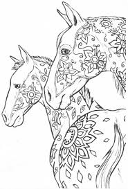 443 best coloring horses images on pinterest colouring coloring