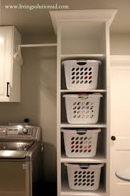 Small Laundry Room Decorating Ideas by Best 25 Laundry Room Shelving Ideas On Pinterest Laundry Room