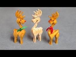 3d reindeer ornament compound cuts on the scroll saw