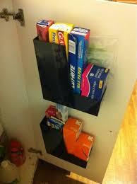 Shelves For Inside Cabinets by 27 Lifehacks For Your Tiny Kitchen