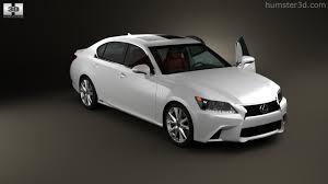lexus sport sedan 2012 360 view of lexus gs f sport hybrid l10 with hq interior 2012 3d