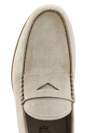 special offer tods suede loafers beige tods men loafers