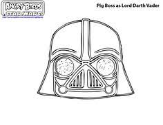angry birds color angry birds star wars coloring pages 15
