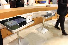 Touch Screen Coffee Table by Touchscreen Restaurant Table Forecasts The End Of Human
