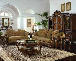 Claremore Antique Living Room Set Top Furniture Claremore Antique Living 6605