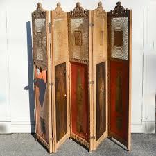 Antique Room Divider Vintage Decorative Screens Room Dividers And Room Partitions Ebth