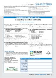 microbiology essentials for the spd hpn online
