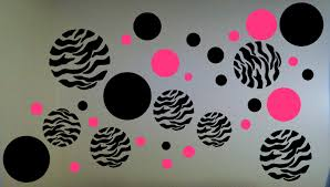 zebra print walls
