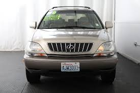 lexus rx300 driver seat used 2001 lexus rx 300 base lynnwood wa lang auto sales