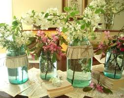 Ball Jar Centerpieces by Best 25 Vintage Mason Jars Ideas Only On Pinterest Shabby Chic