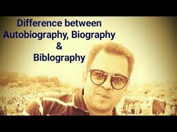 biography an autobiography difference difference between biography autobiography and biblography by easy