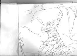 pencil sketches of dragon u2013 dragonsandmorebyrish