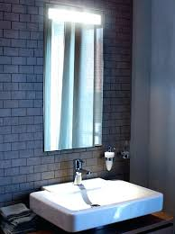Bathroom Mirror With Built In Light Bathroom Mirror With Built In Light And Shaver Socket Lights For