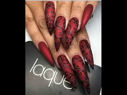 red color nails one of the trends of 2017 youtube