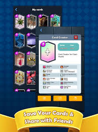 card creator for cr on the app store