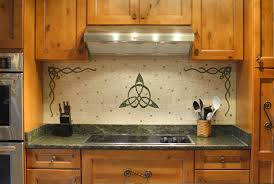 Celtic Home Decor Custom Made Celtic Kitchen Backsplash By Phoenix Handcraft