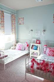 bedroom expansive blue and pink bedrooms for girls carpet wall