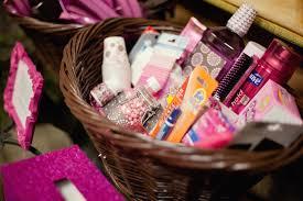 the busy broad color themed wedding bathroom baskets color themed wedding bathroom baskets