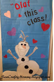 Valentine Decorations For Classroom Doors by Olaf This Class Valentine Door Decoration Board 1