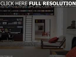 awesome bookshelf with sliding ladder pictures design ideas