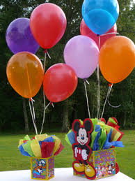 mickey mouse center pieces 12 inch balloon centerpiece weight cover mickey mouse deco flickr