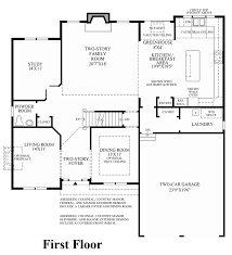 Classic Colonial Floor Plans by Dominion Valley Country Club Carolinas The Ellsworth Ii Home
