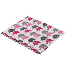 Mini Crib Sheet by Amazon Com Elephants Pink Grey Mini Elephants Crib Fitted Sheet