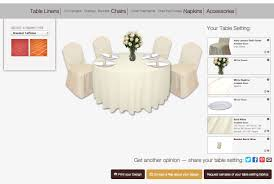 Cloth Connection Table Linen Rentals NYC Events Tablecloths Weddings - Design a table setting