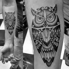 50 tribal owl designs for masculine ink ideas